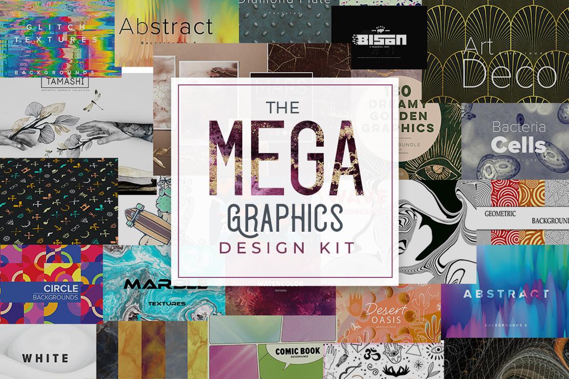 The Mega Graphic Design Kit