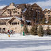 The Montage Deer Valley resort in Park City, Utah, where Senator Kelly Ayotte of New Hampshire mixed skiing with fund-raising this month.