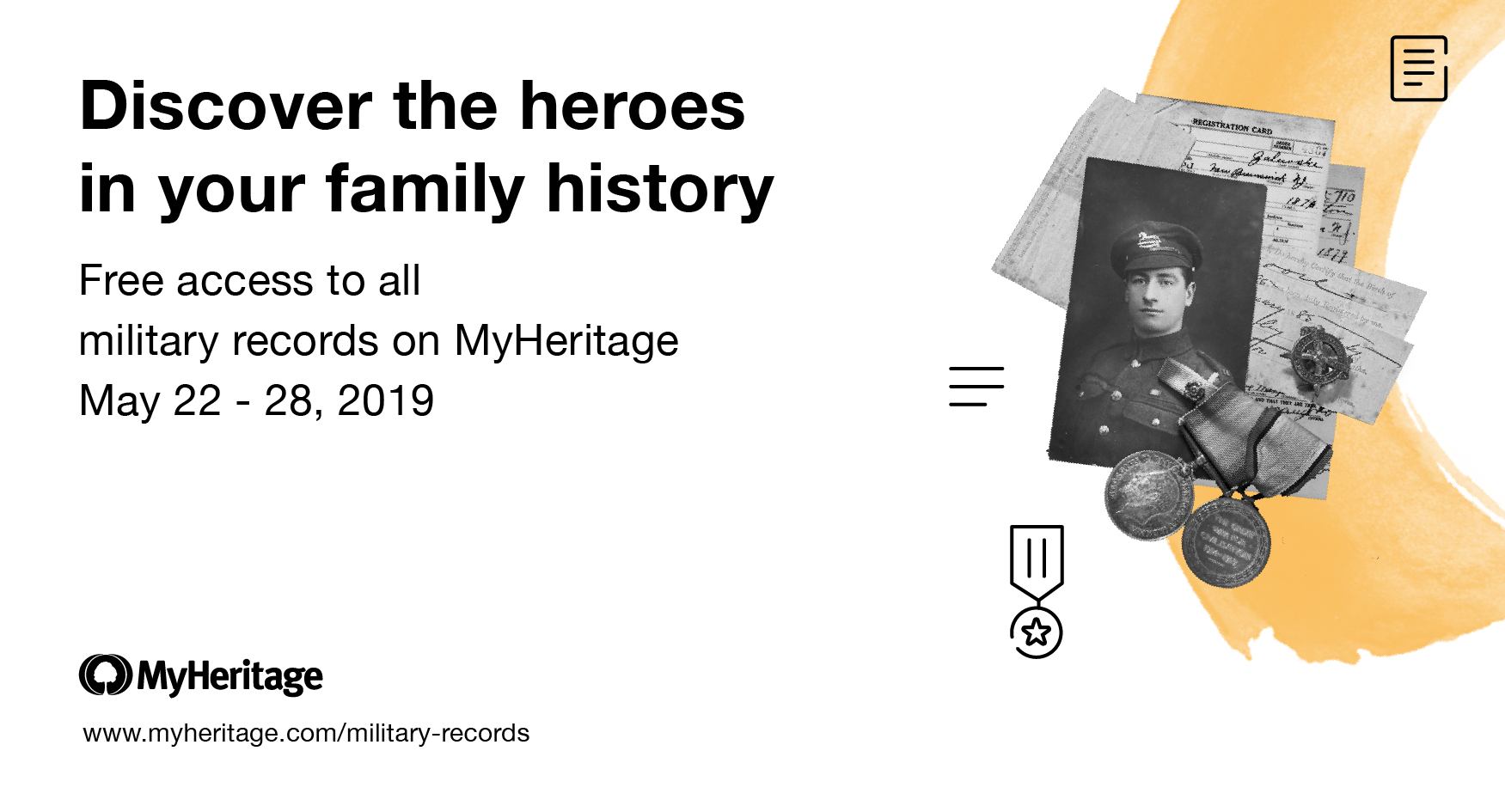Military Records for Memorial Day 2019