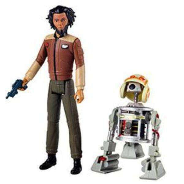 Image of Star Wars Resistance Action Figure 2-Packs Wave 1- Yeager and Bucket Astromech Droid - MARCH 2019
