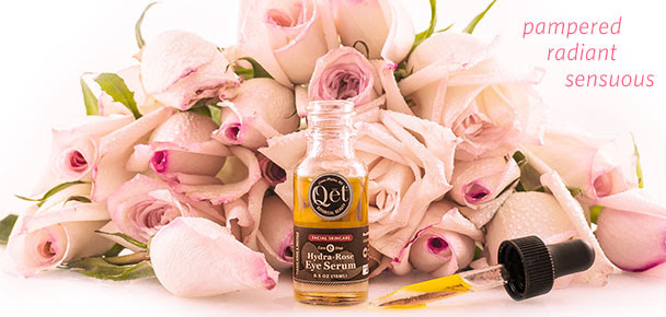 Qēt Botanicals hydra-rose eye serum