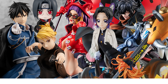 MegaHouse: One Piece, Fullmetal Alchemist, Naruto, Digimon & Demon Slayer