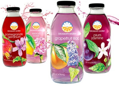 Blossom Water, with Natural Floral Botanicals, On-Trend Solution for Healthy AND Enjoyable Hydration
