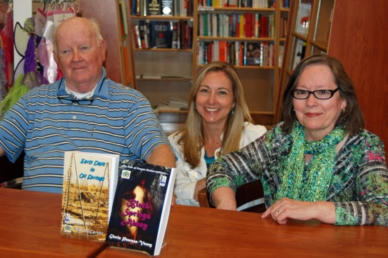 Gloria Pearson-Vasey's book tour included a double-book signing, Saturday, May 9, 2015 at The Book Keeper in Sarnia, Ontario. Additional presentations are planned for the fall 2015.