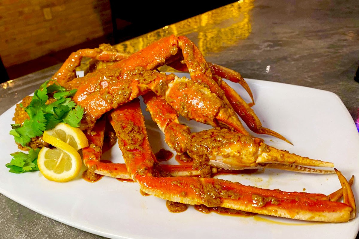 Malay Snow Crab Legs at Phat Eatery