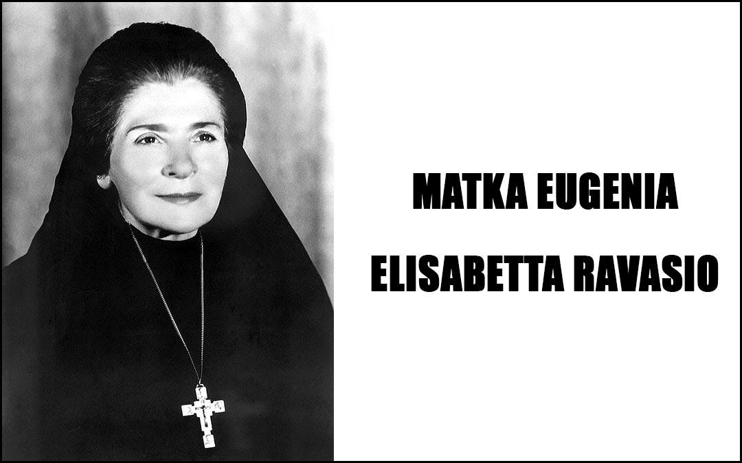 Znalezione obrazy dla zapytania matka eugenia ravasio