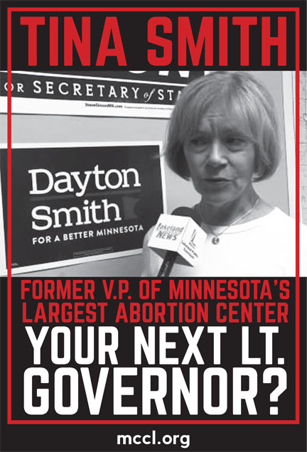 Tina Smith, former VP of MN's largest abortionist