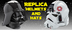 STAR WARS WEARABLE HELMET AND UNIFORM HAT REPLICAS