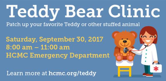 HCMC teddy bear clinic