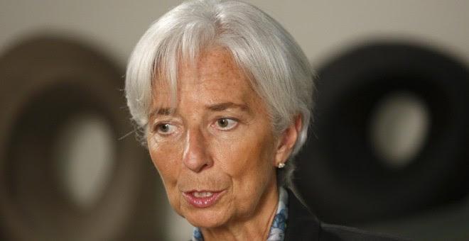la directora gerente del FMI, Cristine Lagarde.- REUTERS