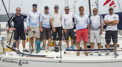 J/109 Whiskey Jack team sailing China Cup off Hong Kong and Shenzen