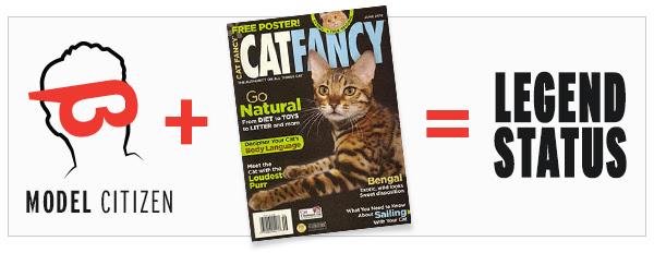 Enter our Cat Fancy Photo Contest