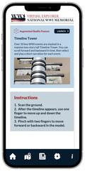 Virtual Explorer - timeline Tower