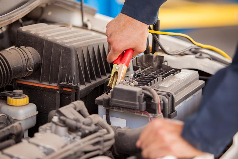 Prepare for a dead battery with jumper cables.