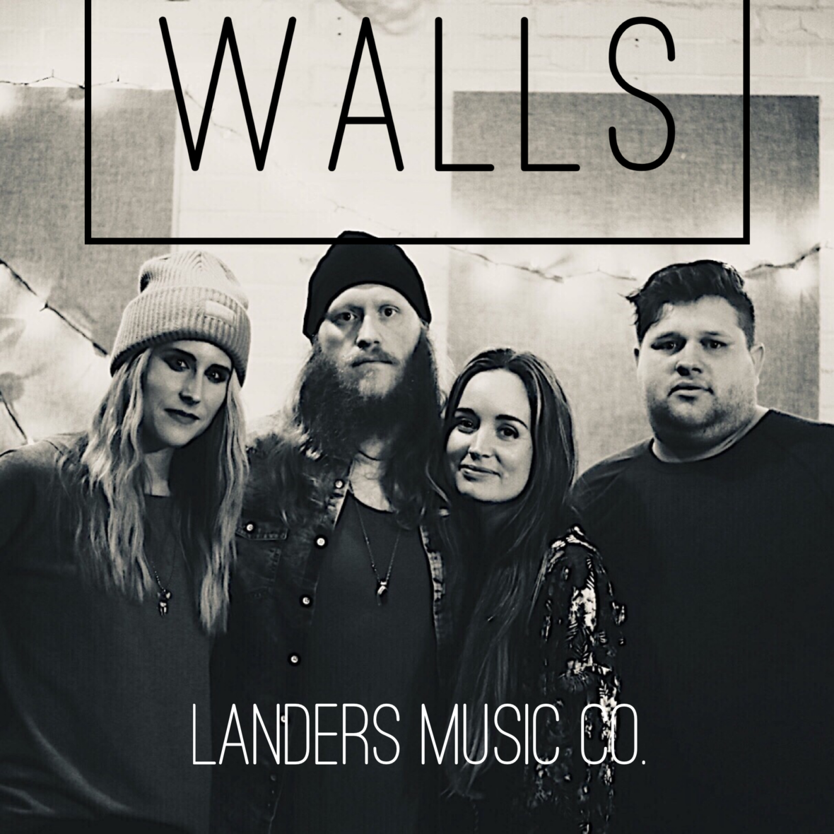 Landers Music Co - Walls - cover