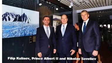 Filip Kulisev, Prince Albert II, Nickolay Saveliev