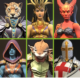MYTHIC LEGIONS FIGURES & ACCESSORIES