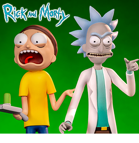 Rick and Morty Figure Two-Pack