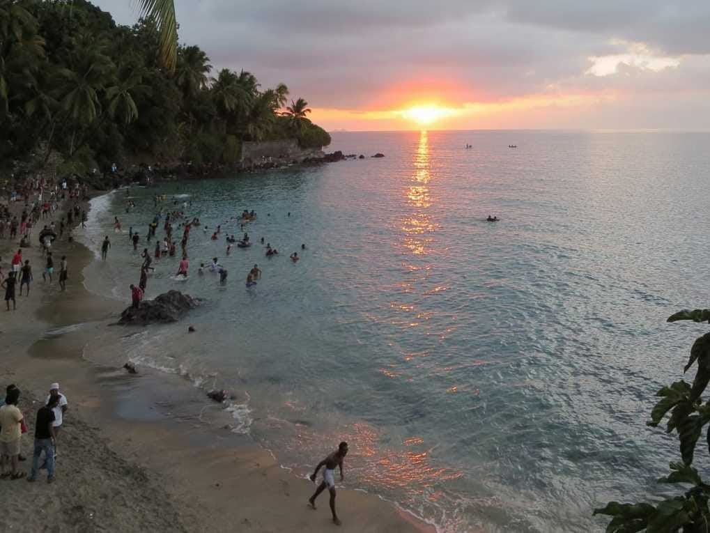 13. Comoros: 21,000 tourists