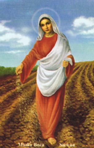 Poświęcenie ziarna w uroczystość Matki Bożej Siewnej     Sądeczanin.info