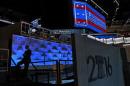 Viewers of the Democratic National Convention, to be held at the Wells Fargo Center in Philadelphia, above, will be able to watch the event on phones and tablets.