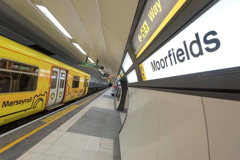 Final platform upgrade at Moorfields station to be completed next month