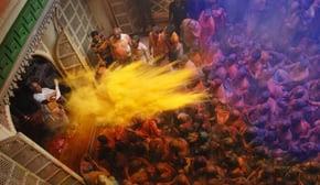The Holi Festival in India