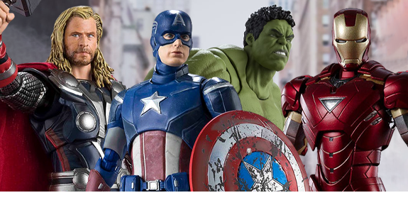 The Avengers S.H.Figuarts