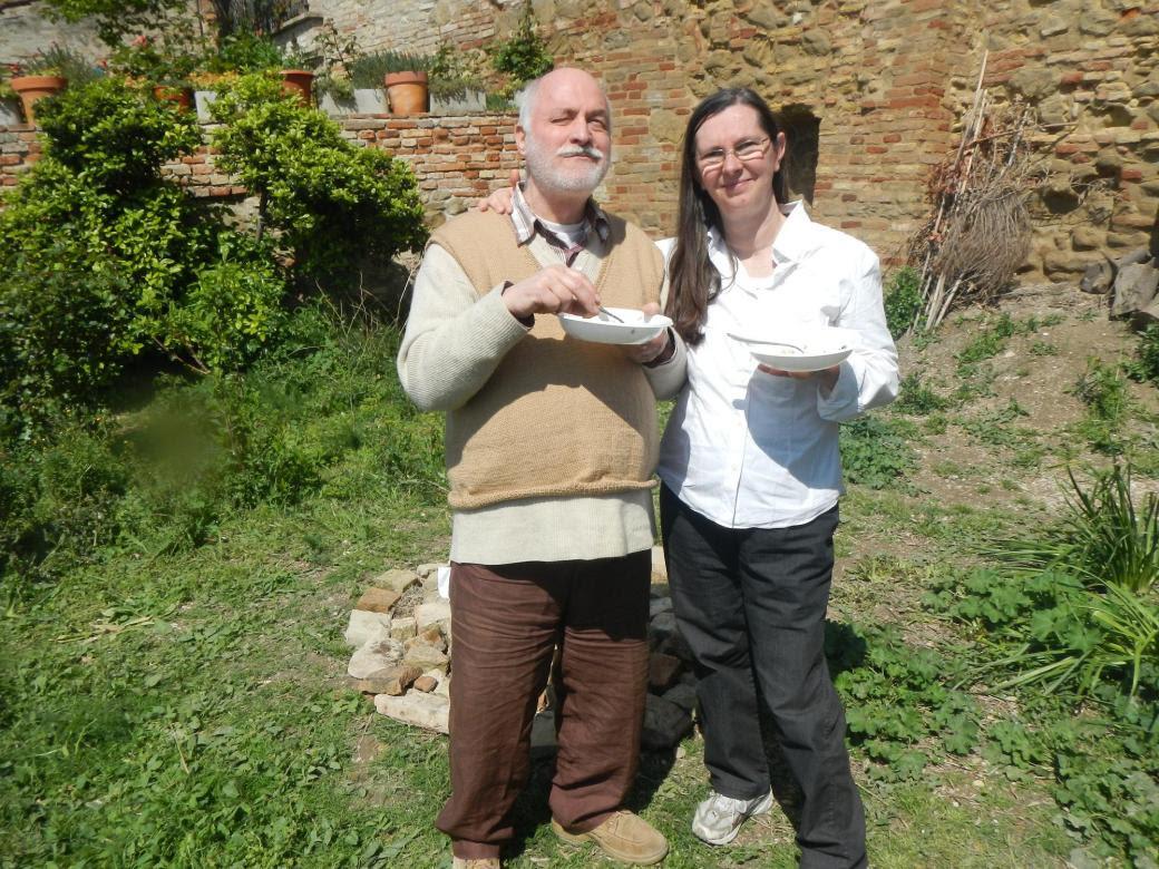 Paolo e Caterina nell'orto di Treia