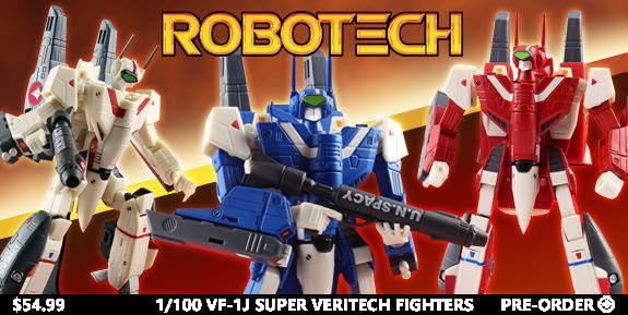 ROBOTECH SUPER VERITECH FIGURES