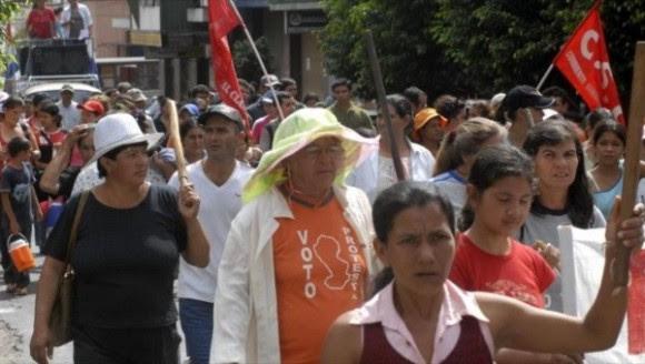 El frente feminista Las Ramonas se solidariza con las empleadas domésticas, las trabajadoras sexuales y quienes defienden su libertad de selección en el ámbito sexual | Foto: Hispantv