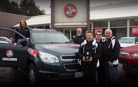 Holden Hits the Road to Fight the Black Dog