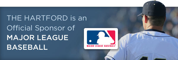 The Hartford is an Official Sponsor of Major League Baseball