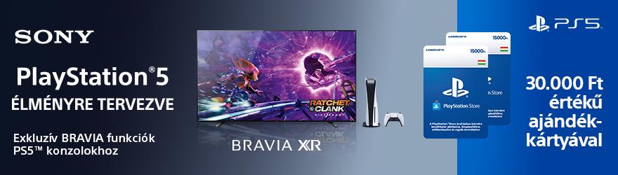 Sony Bravia televíziók PlayStation 5