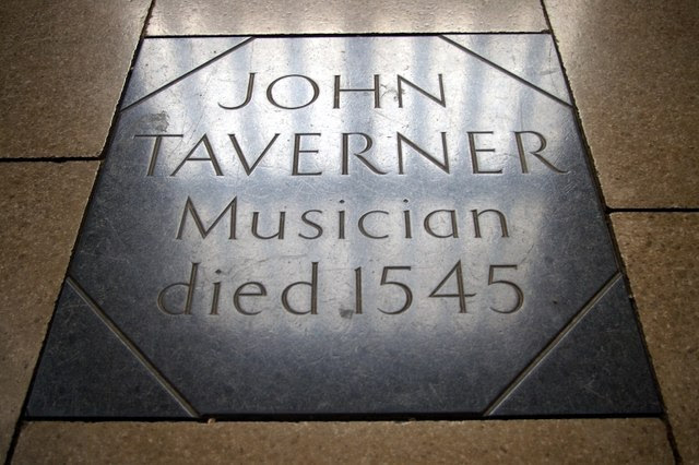 File:Grave of John Taverner - geograph.org.uk - 596642.jpg