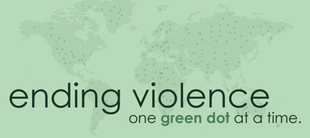 Ending violence one green dot at a time