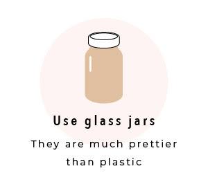 Use Glass Jars