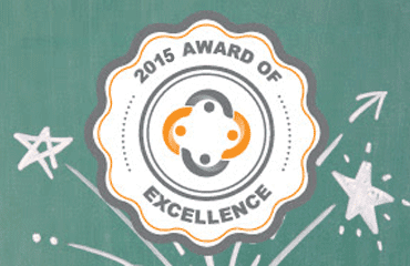 PresenceLearning 2015 Award of Excellence