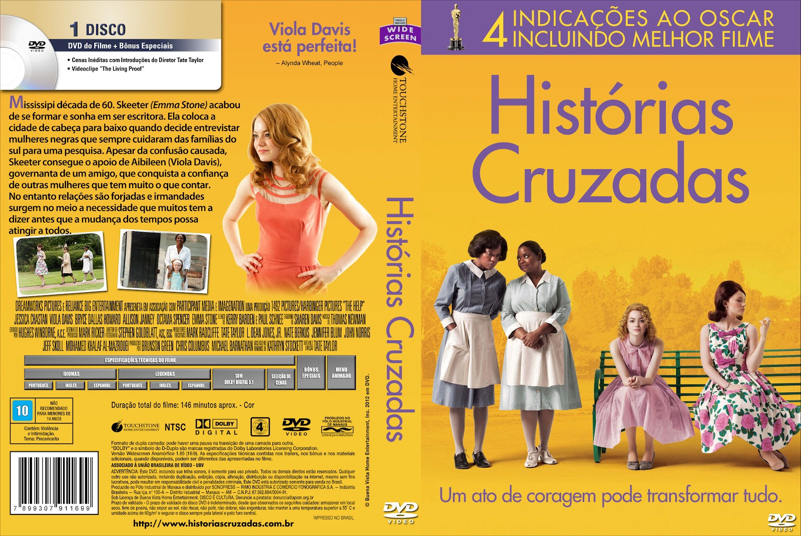 Histórias Cruzadas Torrent – BluRay Rip 720p Dublado (2012)