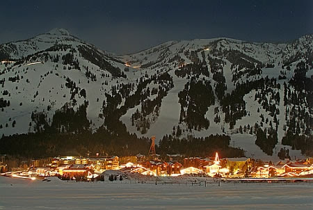 TetonVillage w Lights
