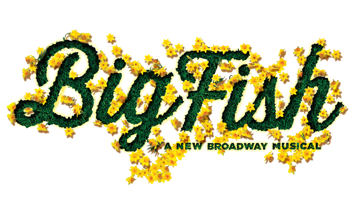 Image result for Big Fish musical logo png