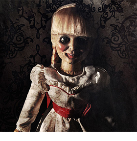 "ANNABELLE 18"" PROP REPLICA DOLL"