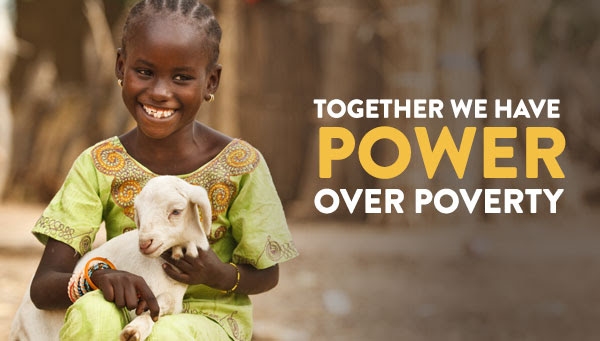 together we have power overpoverty