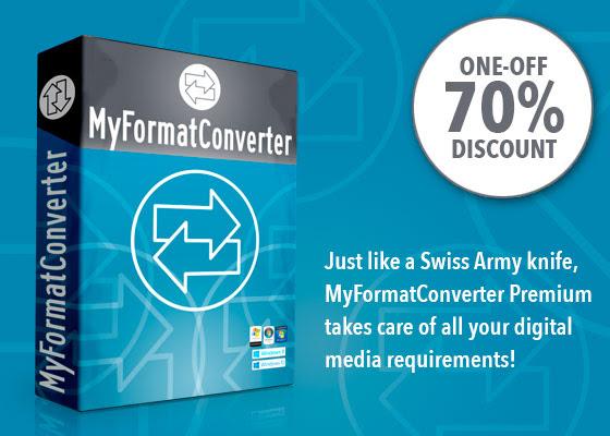 MyFormatConverter Premium  Discount coupon