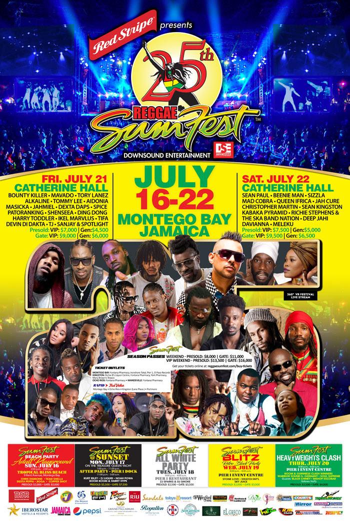 Le Reggae Sumfest Est Sans Doute Le Plus Grand Festival Reggae Au - Reggae sumfest