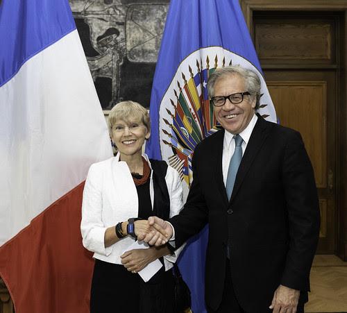 Nueva Observadora Permanente de Francia ante la OEA presenta credenciales