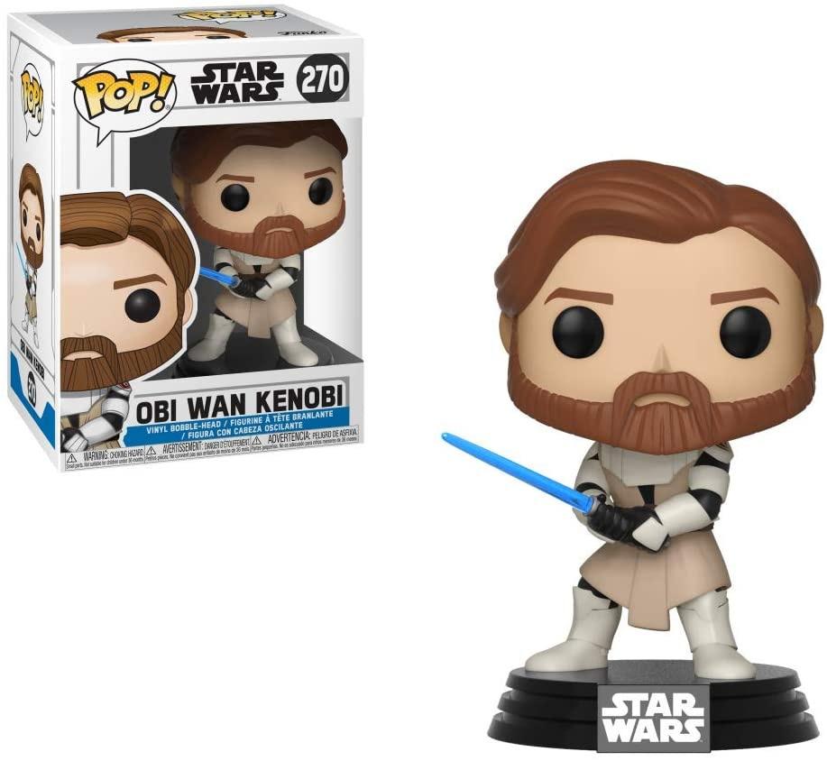 Image of Star Wars: The Clone Wars Obi Wan Kenobi Pop! Vinyl Figure #270