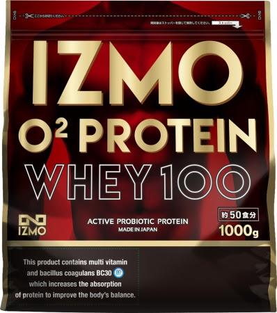 「IZMO O2プロテインホエイ100」