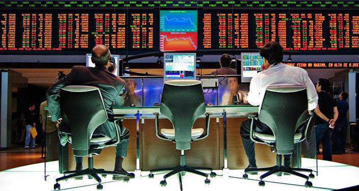 Bolsa en EEUU, imagen referencial
