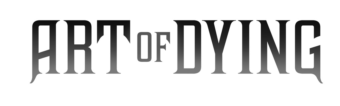 Art Of Dying Official Logo Fade Use On White